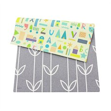 Baby Care™ Playmat Sea Petals Grey Small