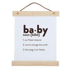 Canvas Sign-Baby