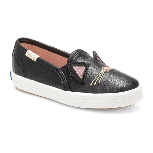 Keds X Kate Spade New York Double Decker Sneaker - Cat Black - Size 5