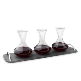 Final Touch Wine Tasting Decanter Set
