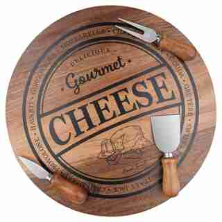 4 PIECE CHEESE BOARD SET