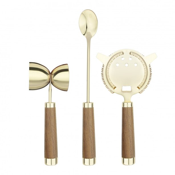 3 PIECE BRASS MIXING TOOL SET