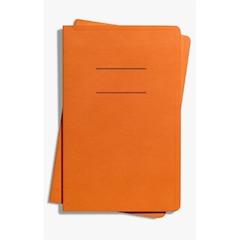 Shinola Medium Softcover Journal - Orange, Lined
