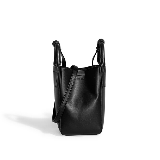 Pixie Mood Leticia Mini Bucket Bag Black