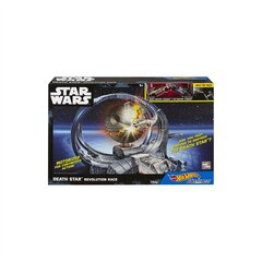 Hot Wheels Star Wars Carships Death Star Revolution Race Track  Set