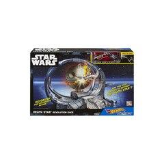 Hot Wheels Star Wars Carships Death Star Revolution Race Track  Set