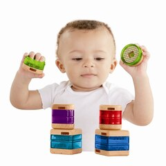Fisher-Price® Wooden Toys Surprise Inside Shapes Set