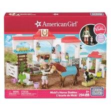 American Girl® Mega Bloks - Nicki's Horse Stable