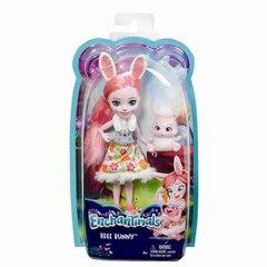 "Enchantimals Bree Bunny Doll, 6"""