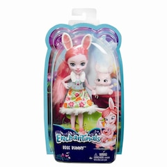 Enchantimals – Poupée de 15 cm (6 po) – Bree Bunny