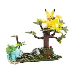 Pokemon Pikachu vs Bulbasaur