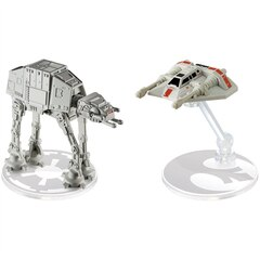 Hot Wheels StarWars R1 SnowSpeeder vs AT-AT