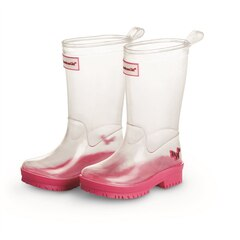 PEEK A BOO WELLIES FOR GIRLS (SIZE 8-9) - WELLIE WISHERS BY AMERICAN GIRL