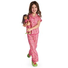 Wellie Wishers Enchanted Garden PJs for Girls (Size 4)