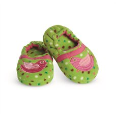 ENCHANTED GARDEN SLIPPERS FOR GIRLS (SIZE 9-11) WELLIE WISHERS BY AMERICAN GIRL