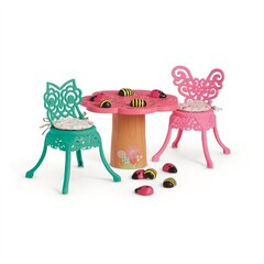 GARDEN PARTY TABLE & CHAIRS - WELLIE WISHERS BY AMERICAN GIRL