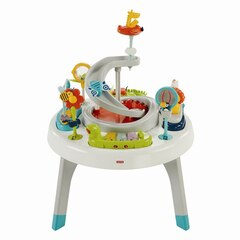 Fisher Price 2-in-1 Sit-to-Stand Activity Center, Spin 'n Play Safari