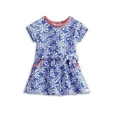 AMERICAN GIRL® -Print Corduroy Dress