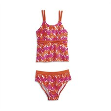 AMERICAN GIRL® - Bright and Splashy Tankini for Girls - Size: 12 (More Sizes Available)