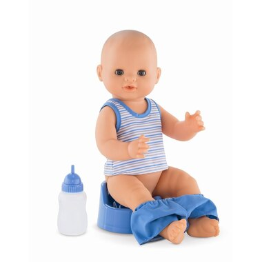 Corolle Paul Drink-and-Wet Bath Baby