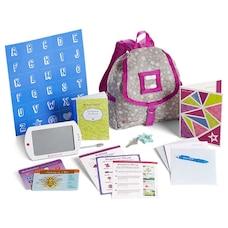 American Girl® Doll Hobby Accessory School Backpack Set