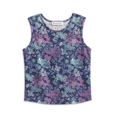 AMERICAN GIRL® - Print Tank Top for Girls - SIZE: LARGE (MORE SIZES AVAILABLE)
