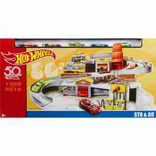 HOT WHEELS Retro STO & GO Play Set