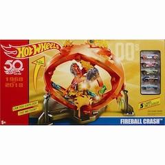 Hot Wheels® Retro Fireball Crash™ playset