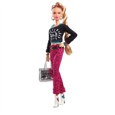 Keith Haring X Barbie® Doll