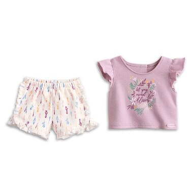 American Girl Girl Of The Year 2019 Blaire Doll Clothing Outfit Pajamas In Bloom