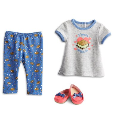 American Girl® Truly Me™ Doll Clothing Outfit Pajamas S'more Fun