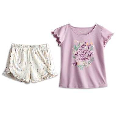 American Girl® Girl of the Year 2019 Blaire Dress Like Your Doll Clothing Outfit Pajamas In Bloom Size Extra Small