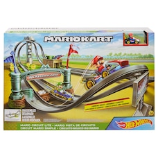 Hot Wheels Mario Kart - Circuit Lite Track Set