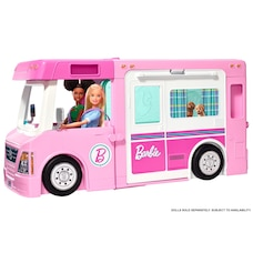 Barbie 3-in-1 DreamCamper Vehicle and Accessories