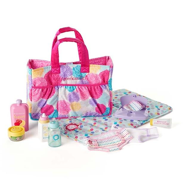 American Girl Bitty Baby Mommy's Diaper Bag Basics