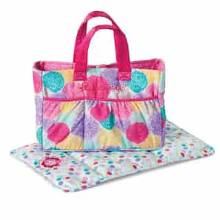 American Girl® Bitty Baby™ Diaper Bag and Changing Pad
