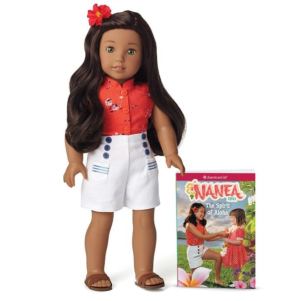 American Girl Nanea Doll and Book