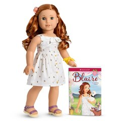American Girl® Girl of the Year 2019 Blaire Doll and Book