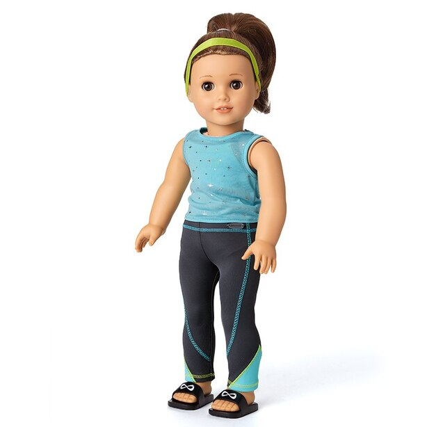 American Girl Girl Of The Year 2020 Joss's Cheer Practive Outfit