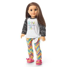 American Girl Girl Of The Year 2020 Joss's Shine Bright Pajamas