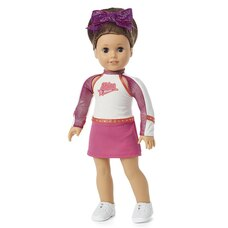 American Girl Girl Of The Year 2020 Joss's Cheer Competition Outfit