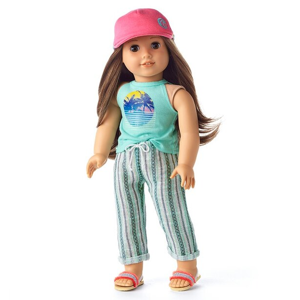 American Girl Girl Of The Year 2020 Joss's Beach Vibes Outfit