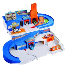 Hot Wheels Flying Customs Sto & Go Track Set
