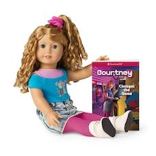 Poupée Courtney et livre