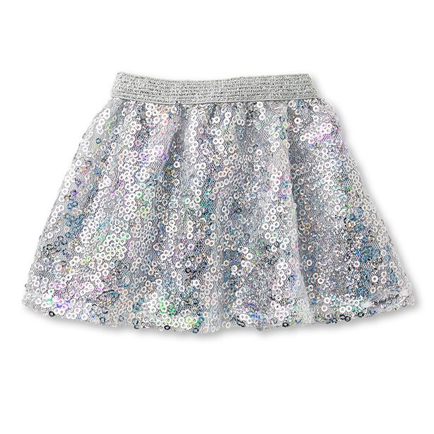 American Girl Truly Me Silver Sparkle Skirt