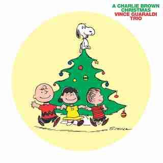 VINCE GUARALDI TRIO - A CHARLIE BROWN CHRISTMAS PICTURE DISC - VINYL (INDIGO EXCLUSIVE EDITION)
