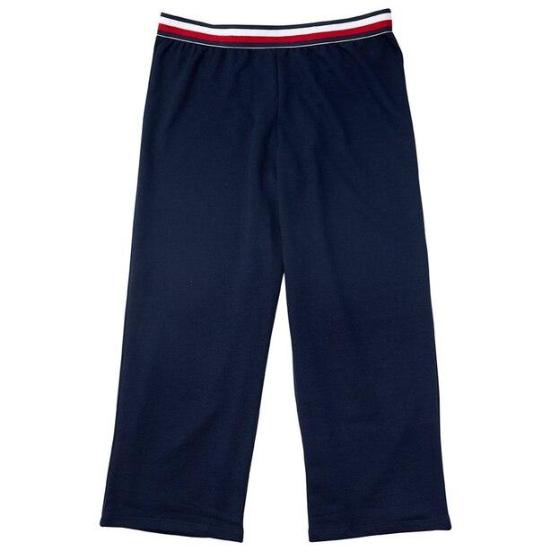 Tommy Hilfiger Global Stripe Crop PJ Pant - Navy, L