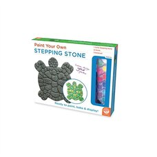 Paint Your Own: Stepping Stone Turtle