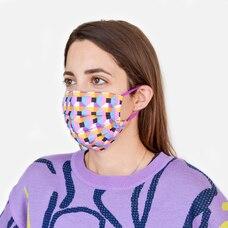 Tanya Taylor 2 Pack Face Mask Floral/Geo Print