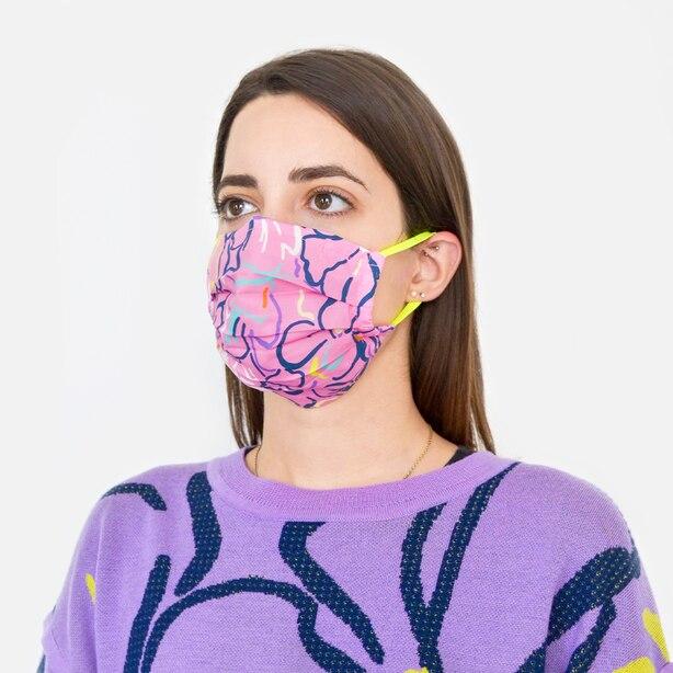 Tanya Taylor 2 Pack Face Mask Mixed Florals